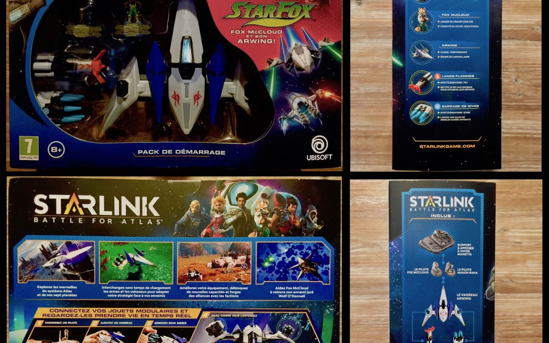 Unboxing Starlink : Battle for Atlas  Starter Pack sur Switch