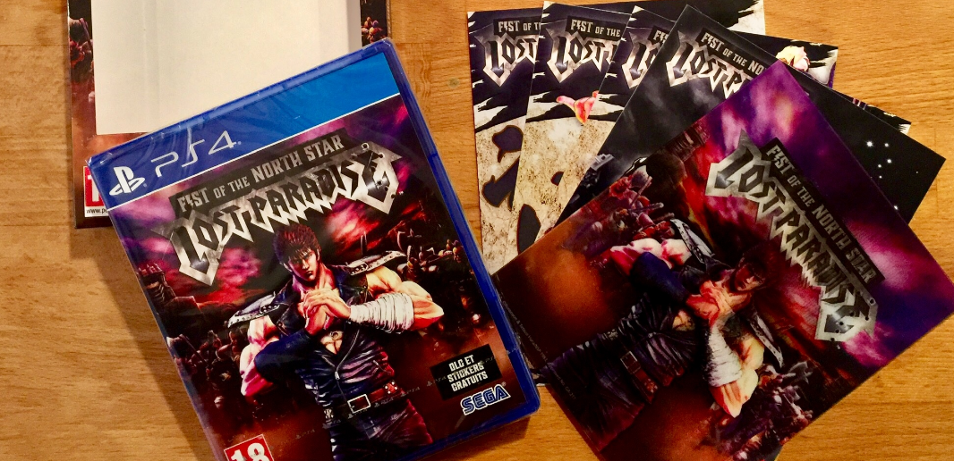 [Unboxing] Fist of the North Star Lost Paradise – Launch Edition (PS4)