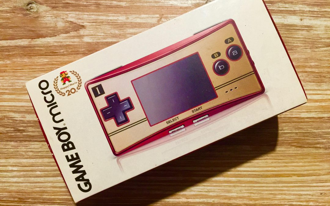 [Retroboxing] Game Boy Micro Famicom Version 20th Anniversary Edition