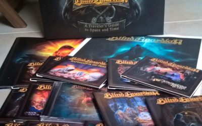 [Unboxing] Blind Guardian – A Traveler's Guide To Space And Time