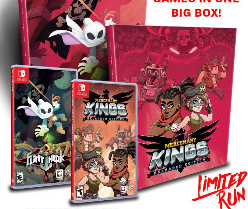 Unboxing Treasure Tribute Box (Flinthook & Mercenary Kings) sur Switch