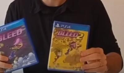 Unboxing des éditions spéciales de Bleed & Bleed 2 et de Rêverie sur Ps4