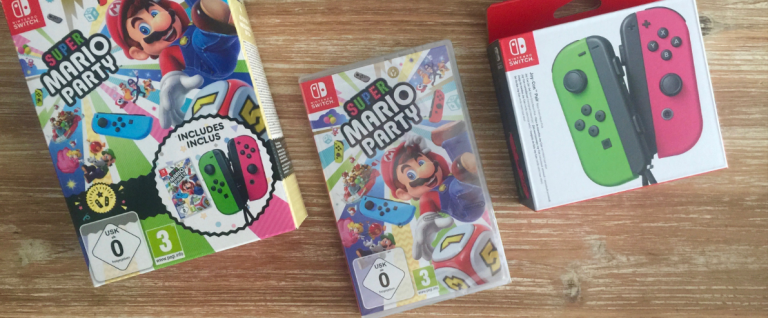 Fastsboxing : Super Mario Party – Joy-Con pack sur Switch