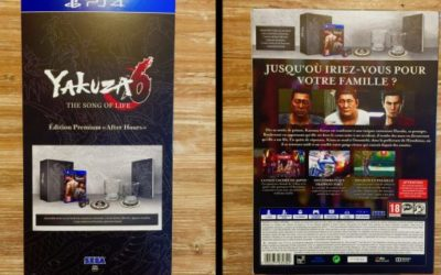 Unboxing Yakuza 6 : The Song of Life – After Hours Premium Edition – PS4