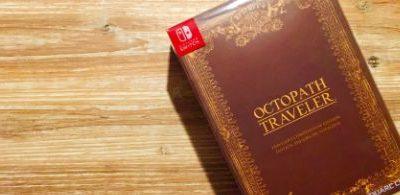 [Unboxing] Octopath Traveler – Edition Trésors du Voyageur – Switch