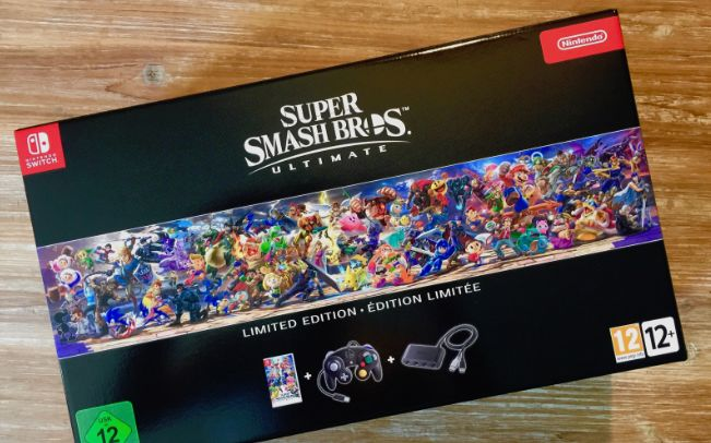 Unboxing Super Smash Bros Ultimate – Edition Limité sur Switch