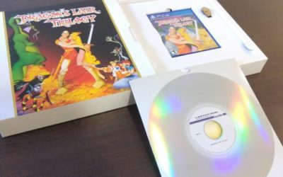 [Unboxing] Dragon's Lair Trilogy Ps4 Classic Edition