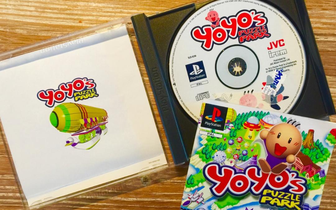[Retroboxing] Yoyo's Puzzle Park – Playstation