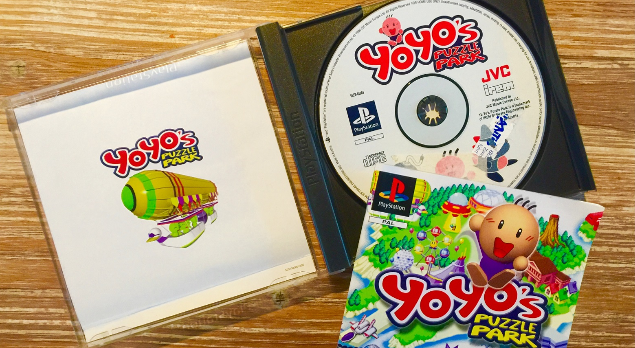 [Retroboxing] Yoyo's Puzzle Park – Playstation