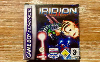 [Retroboxing] Iridion 2 – Game Boy Advance