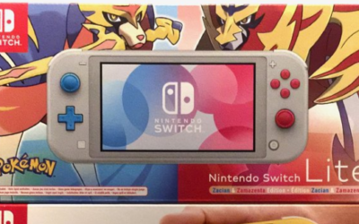 [Unboxing] Nintendo Switch Lite Edition Zacian & Zamazenta