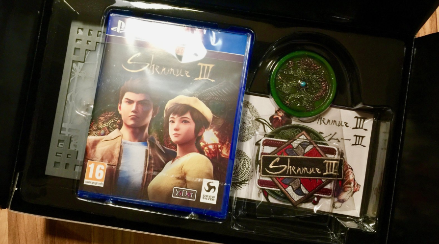 shenmue 3 collector ps4