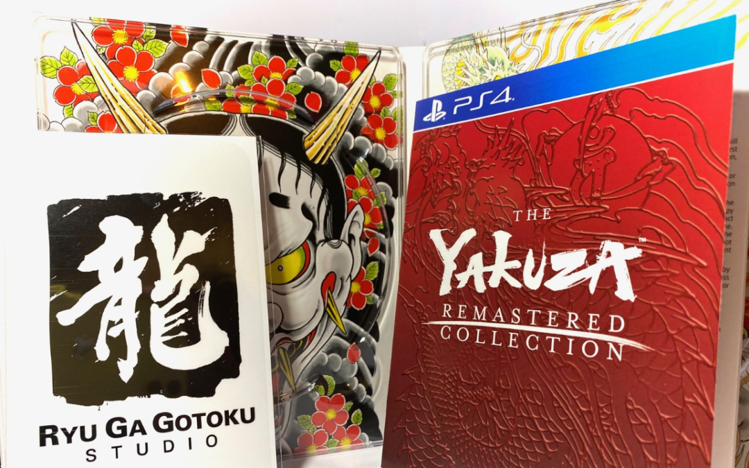 [Unboxing] Yakuza – The Remastered Collection – PS4