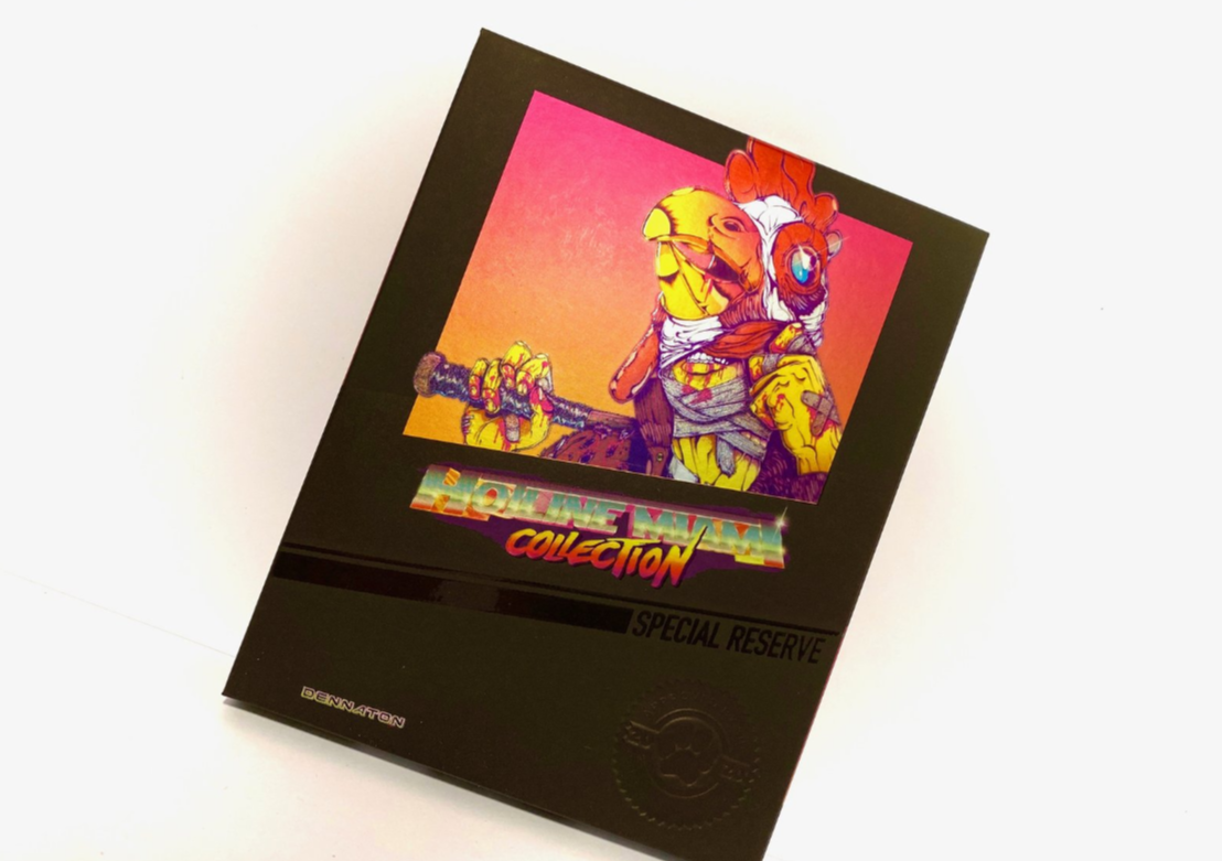 [Unboxing] Hotline Miami Collection – Special Reserve Games – Switch