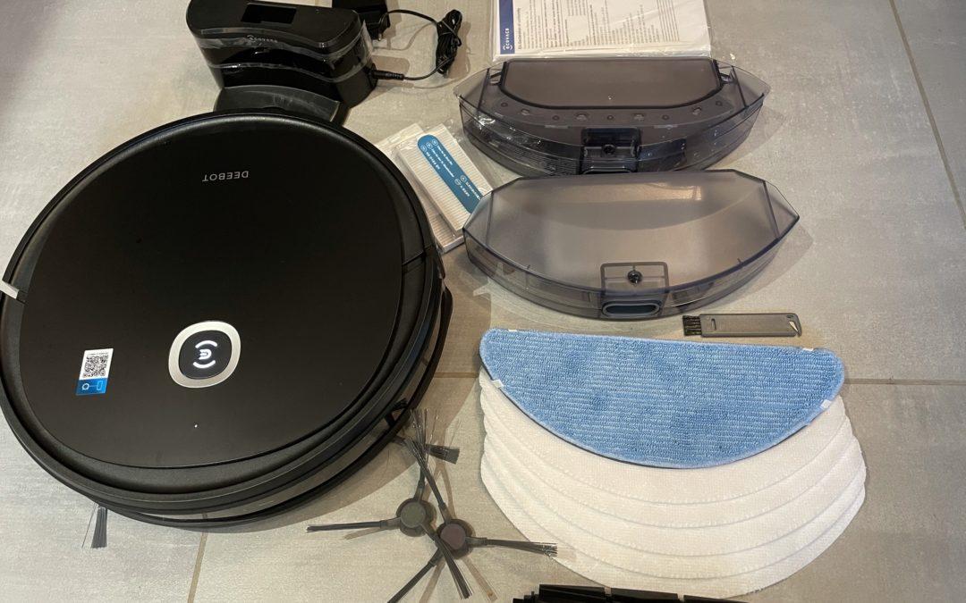Test de l'Ecovacs DEEBOT U2 Pro, un aspirateur robot laveur avec kit animaux